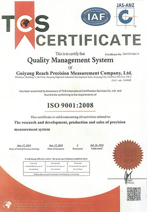 ISO9001 Certificate - GIT - General Integrated Technologies